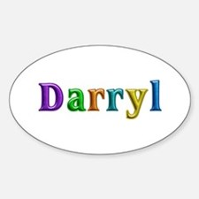 Darryl Shiny Colors Oval Decal