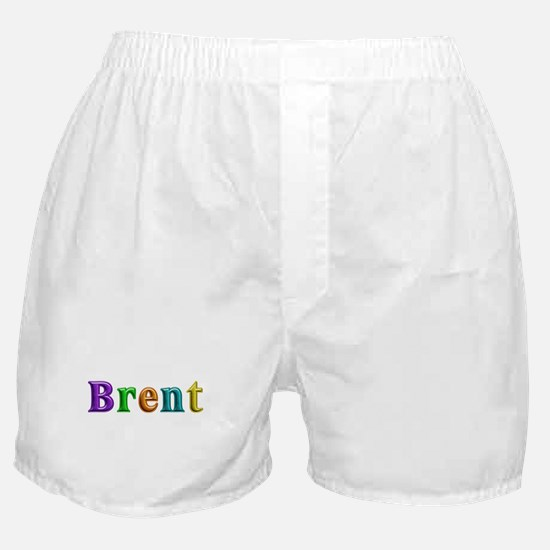 Brent Shiny Colors Boxer Shorts