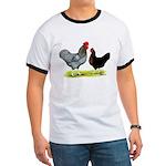 Black Sex-link Chickens Ringer T