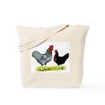 Black Sex-link Chickens Tote Bag