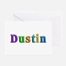 Dustin Shiny Colors Greeting Card