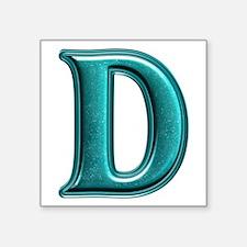 D Shiny Colors Square Sticker