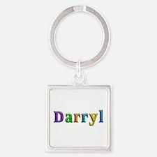 Darryl Shiny Colors Square Keychain