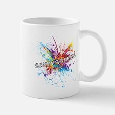 Rainbow Splash Genderqueer Mugs