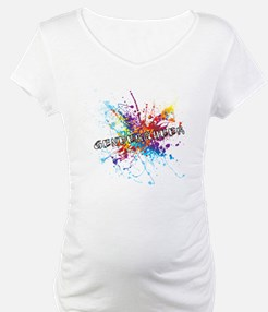 Rainbow Splash Genderqueer Shirt