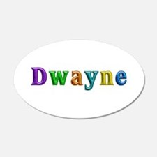 Dwayne Shiny Colors Wall Decal