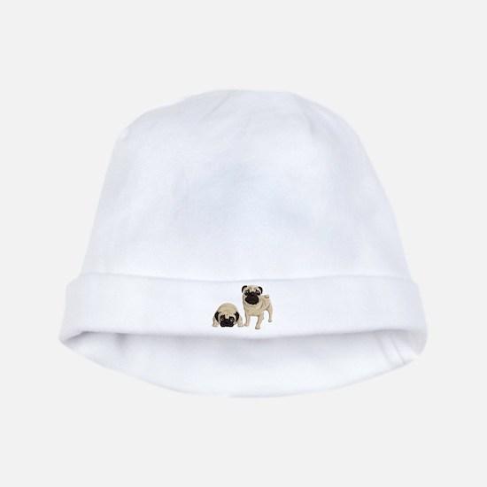 Pugs baby hat