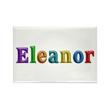 Eleanor Shiny Colors Rectangle Magnet
