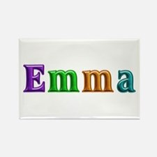 Emma Shiny Colors Rectangle Magnet