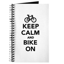 Keep calm and bike on Journal