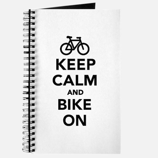 Keep calm and bike on Journal