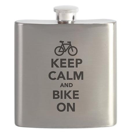 Keep calm and bike on Flask