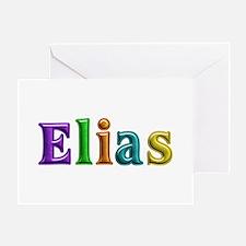 Elias Shiny Colors Greeting Card