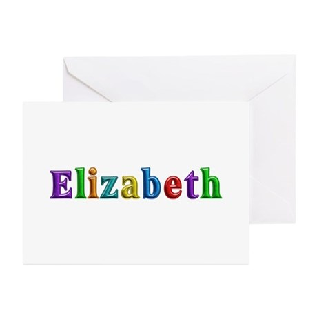 Elizabeth Shiny Colors Greeting Card 20 Pack