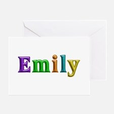 Emily Shiny Colors Greeting Card