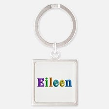 Eileen Shiny Colors Square Keychain
