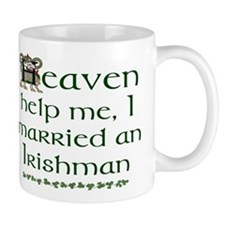 I Married An Irishman Mug