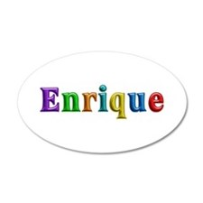 Enrique Shiny Colors Wall Decal