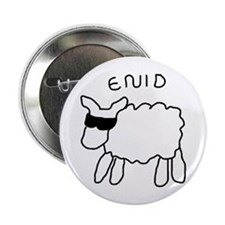 Enid the Sheep Button
