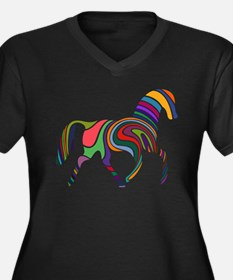 Cute Horse Plus Size T-Shirt