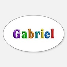 Gabriel Shiny Colors Oval Decal