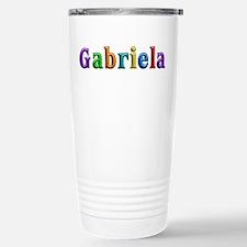 Gabriela Shiny Colors Stainless Steel Travel Mug