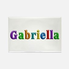 Gabriella Shiny Colors Rectangle Magnet