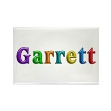 Garrett Shiny Colors Rectangle Magnet