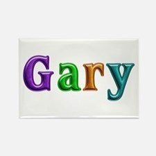 Gary Shiny Colors Rectangle Magnet