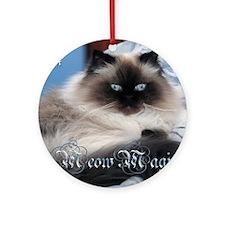 2014 Coco Calendar Cover Round Ornament