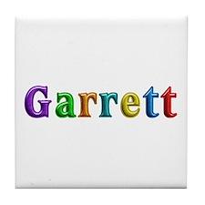 Garrett Shiny Colors Tile Coaster