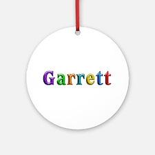 Garrett Shiny Colors Round Ornament