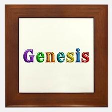 Genesis Shiny Colors Framed Tile