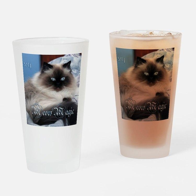 2014 Coco Calendar Cover Drinking Glass