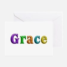Grace Shiny Colors Greeting Card