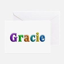 Gracie Shiny Colors Greeting Card