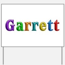 Garrett Shiny Colors Yard Sign