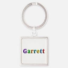 Garrett Shiny Colors Square Keychain