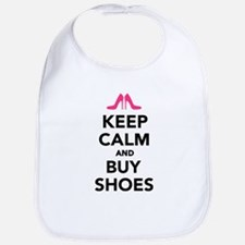 Keep calm and buy shoes Bib