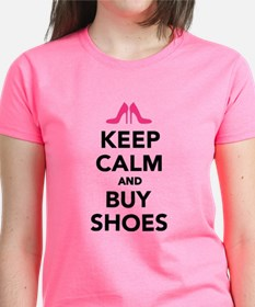 Keep calm and buy shoes Tee