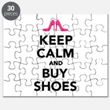 Keep calm and buy shoes Puzzle