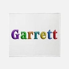 Garrett Shiny Colors Throw Blanket