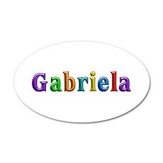 Gabriela Shiny Colors Wall Decal