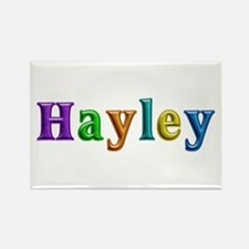 Hayley Shiny Colors Rectangle Magnet