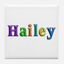 Hailey Shiny Colors Tile Coaster