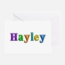 Hayley Shiny Colors Greeting Card