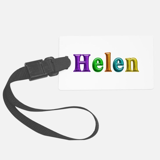 Helen Shiny Colors Luggage Tag