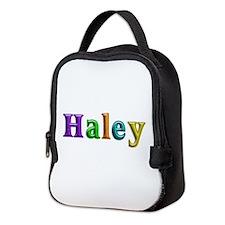 Haley Shiny Colors Neoprene Lunch Bag
