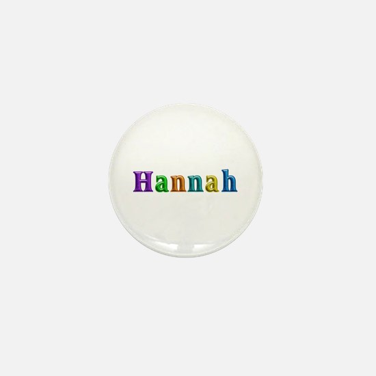Hannah Shiny Colors Mini Button