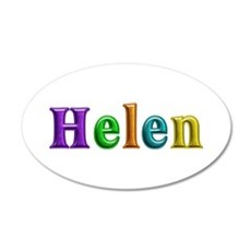 Helen Shiny Colors Wall Decal
